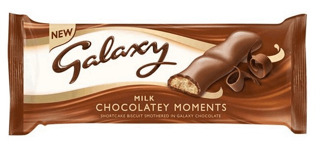 Save 50p on Galaxy Milk Chocolatey Moments at Tesco with a Clubcard