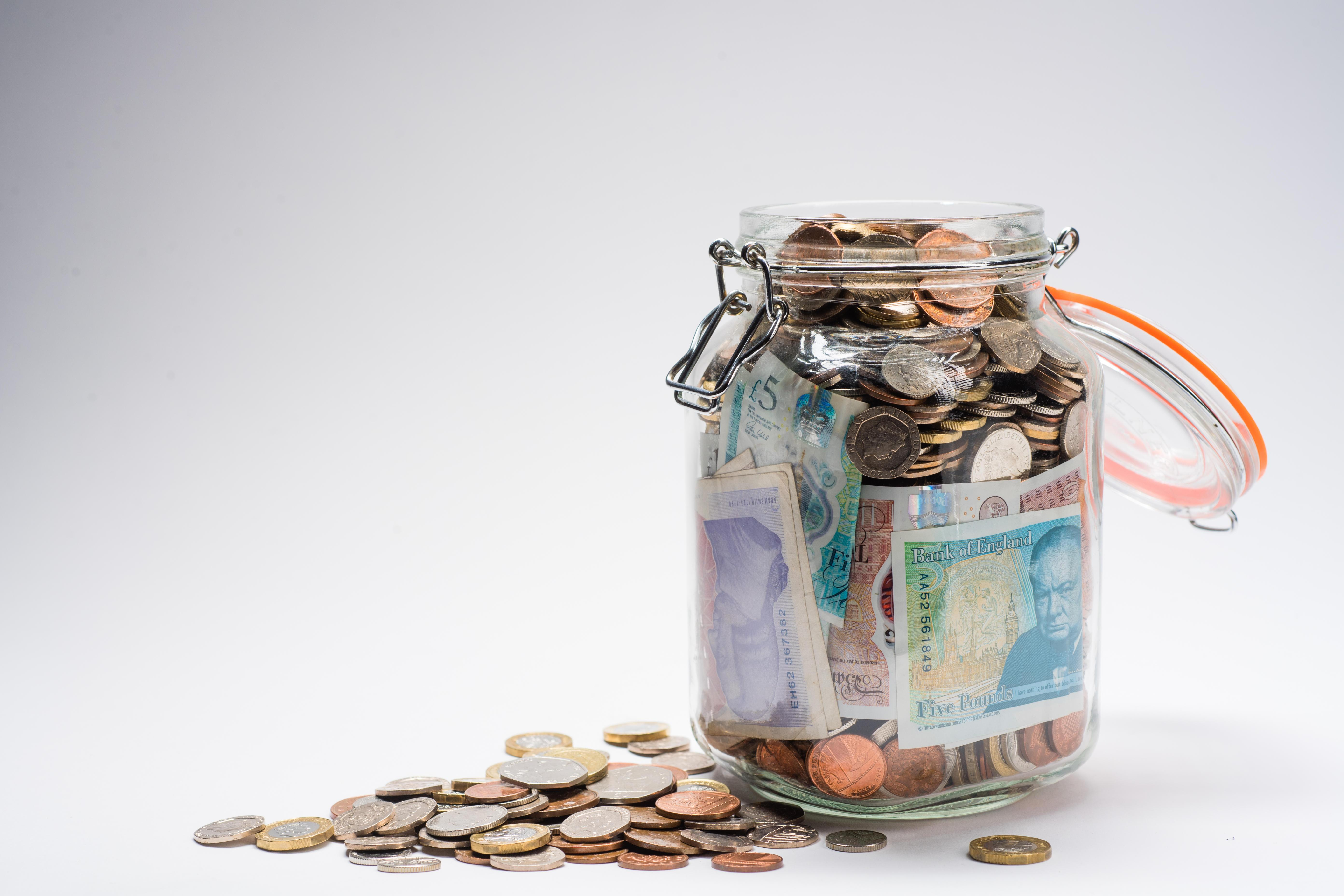 Some Brits will swear by saving up pennies in a jar until they have enough savings